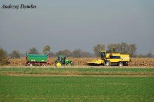New Holland TC5070 & John Deere