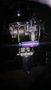 Nowa podstawa filtra Ursus 330