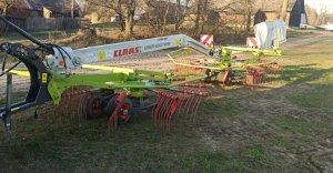 Zgrabiarka Claas linder 650 twin