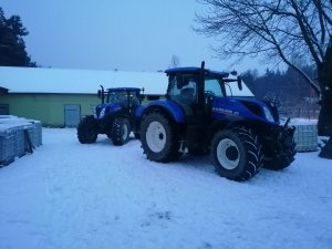 2x New Holland t7