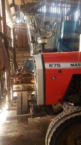 Massey Ferguson 675 i Bizon sampo 2020