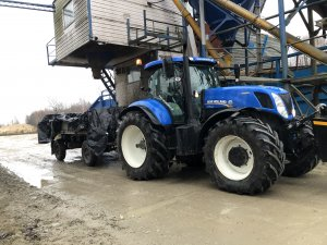 New Holland t7.250 & hl60.11