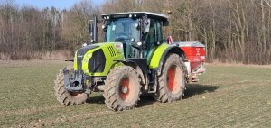 Claas Arion 510 Cebis i Kuhn MDS