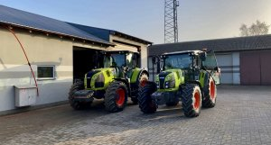 Claas Arion 620&420