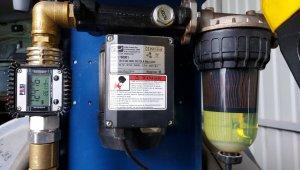 Filtr paliwa po 12tys litrów i temperaturze -18
