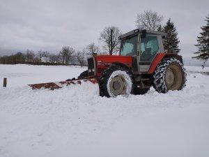 Massey Ferguson 3115 + pług do śniegu
