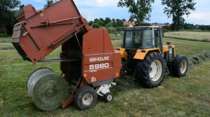 Renault 133-54 + New Holland 5980