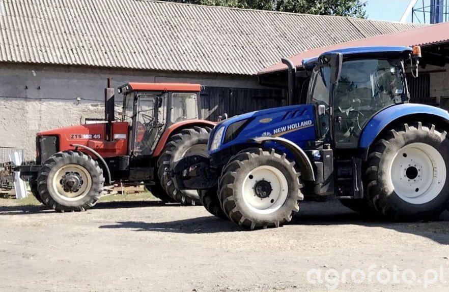 ZTS 16245 Super , New Holland T6.165