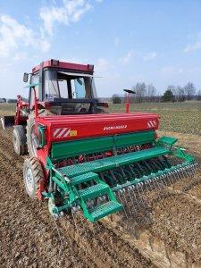Agro-masz sr300 & Case 685xl