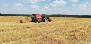 Belarus 820 & Vicon RV157