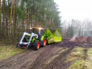Claas Ares 557 ATZ + MX + Kruger