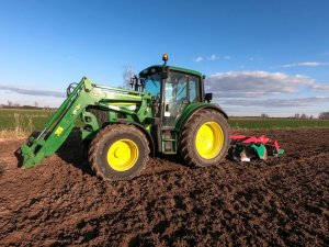 John Deere 6230 + Agro-MAsz BTL-30