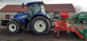 New Holland T6.145DC+ Agromasz Grass 300