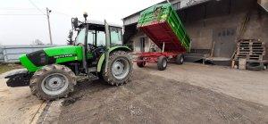 Deutz-Fahr Agrolux 65 & Pronar T653/2
