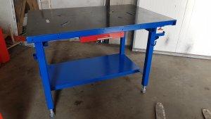 Stół montażowo- spawalniczy