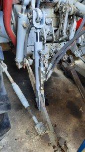 Ursus C-360 ramię hydrauliczne