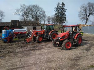 Zetor Major 80 CL & Kubota M125GXIII