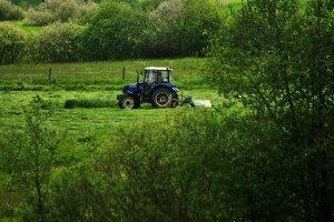 Farmtrac 70 4wd & Samasz samba 240