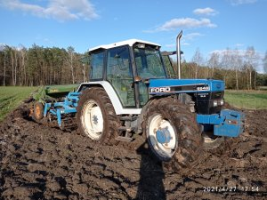 Ford 6640 Turbo & Agro Lift + Amazone D7