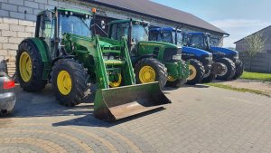 John Deere 6420,John Deere 6930,New Holland TM135, New Holland TM190
