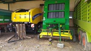 New Holland RB 160 cc