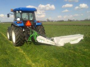 New holland TD5.85 & Samasz samba 240