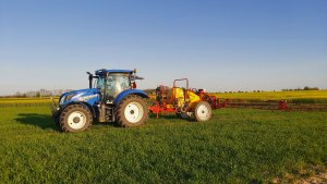 New Holland T6.125S & Woprol Proton 1500/21
