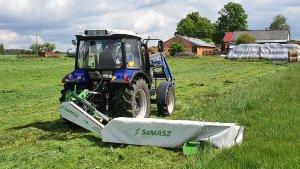 Farmtrac 690 + samba 240