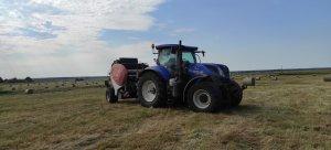 New Holland T7 270AC i Lely Welger RP 160V Master