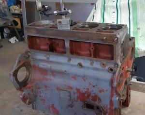 Remont silnika w Ursusie C-360