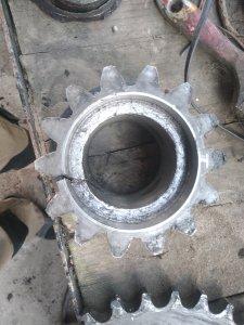 Zębatka napędu rotora Unia Famarol df120 1.5/Deutz Fahr GP 2.30