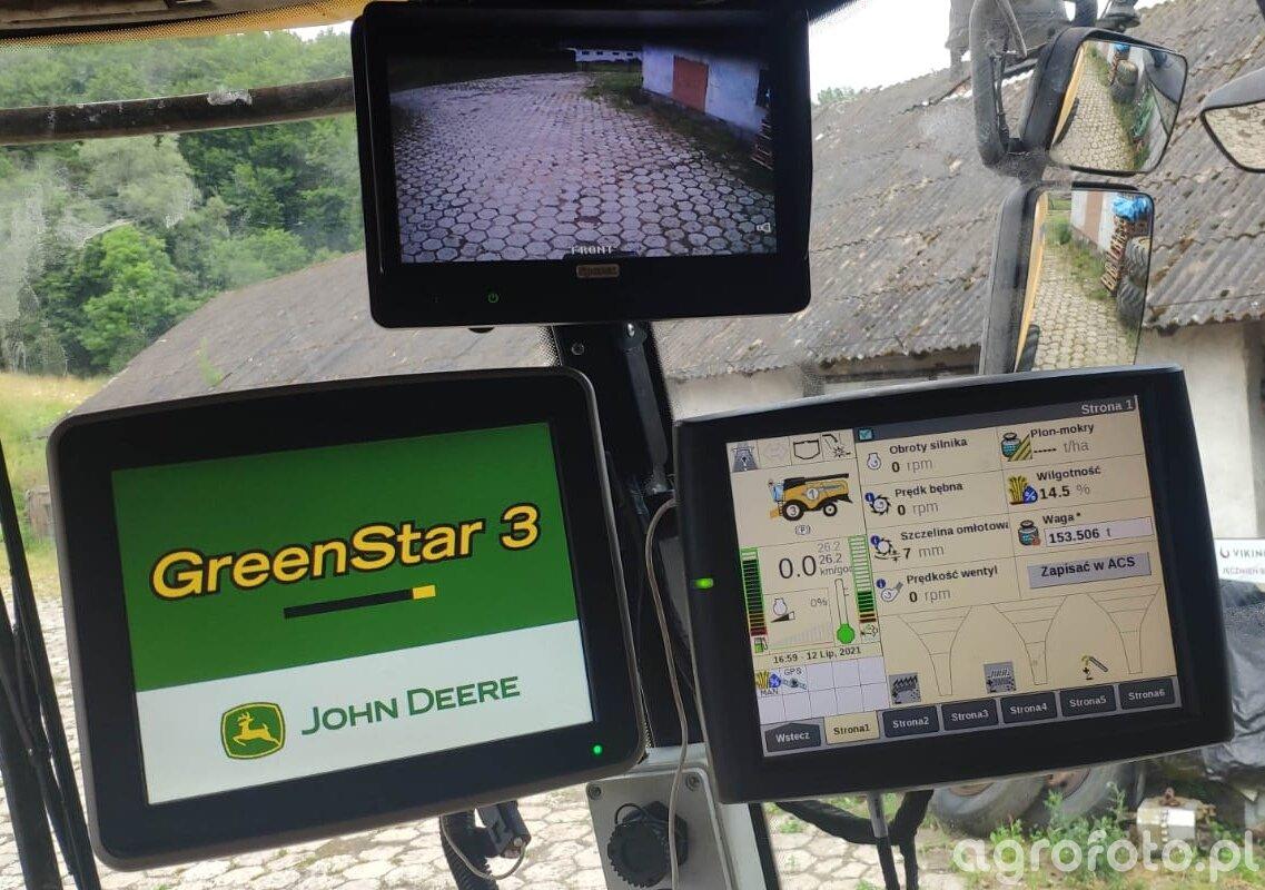 New Holland Cx 6.90 + gps John Deere