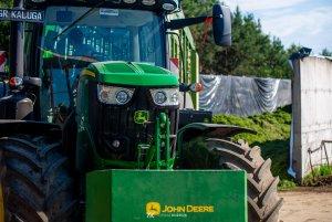 John Deere 6175R & Krone