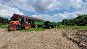 Kubota m7 i wagony