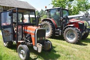 Massey Ferguson 255 & Massey Ferguson 5710 Dyna4