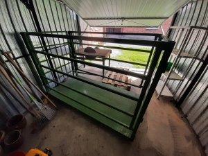 waga do bydła  żywca świń platformowa
