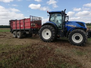New Holland T7. 165s+ Metal Fach N267