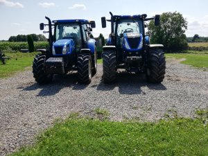 New Holland T7.165S & New Holland T6. 120