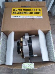 Nowy alternator do Ursusa
