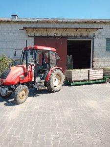 Ursus 3502 & Wózek sadowniczy