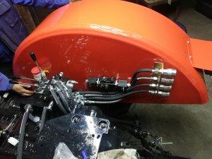 Montaż dodatkowej hydrauliki Ursus c360