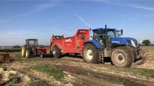 New Holland t7 250 & Jeantil evr