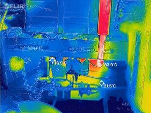 Ursus w Kamerze termowizyjnej