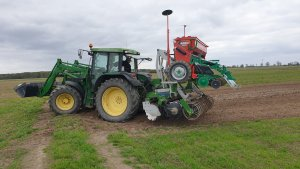 John Deere 6210 i zestaw Tolmet z Agro-Maszem